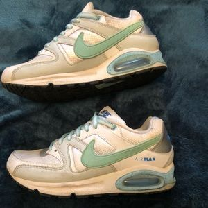 Women's Baby Blue Nike Air Max Sneakers